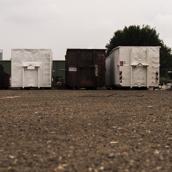 Containerdienst bei RRB Rohstoff Recycling Bergheim GmbH bei Köln
